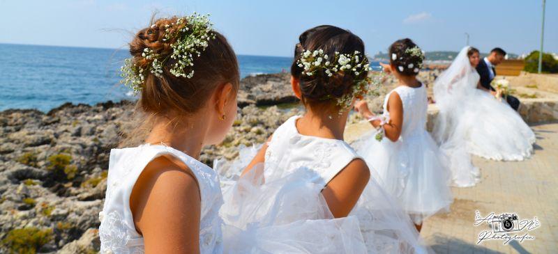 Offerta servizi fotografici matrimoniali - promozione fotografia wedding - galatina - sposi