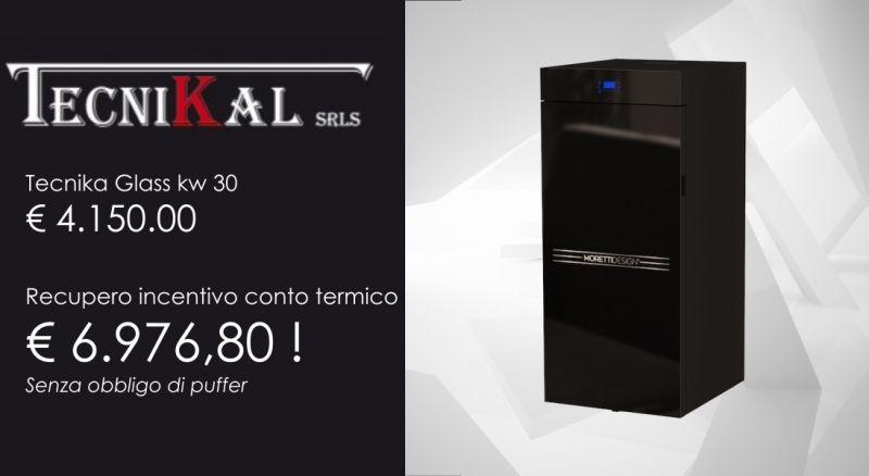 offerta caldaia moretti con recupero incentivo conto termico-promozione caldaia tecnika glass