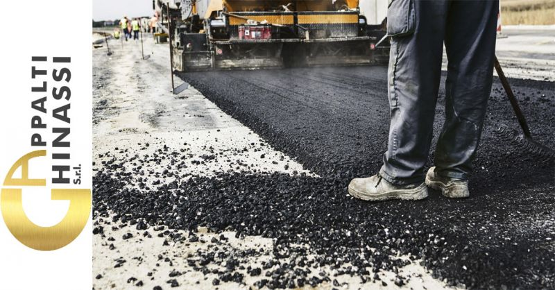 offerta bitume per usi stradali Roma - occasione conglomerato bituminoso per rifacimento strada