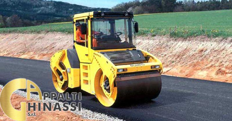 offerta pavimentazione e rifacimento stradale Roma - occasione lavorazione di Bitumi e Asfalti