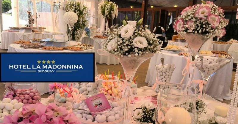 offerta Hotel La Madonnina menù di matrimonio - occasione pranzo di nozze pranzo di matrimonio