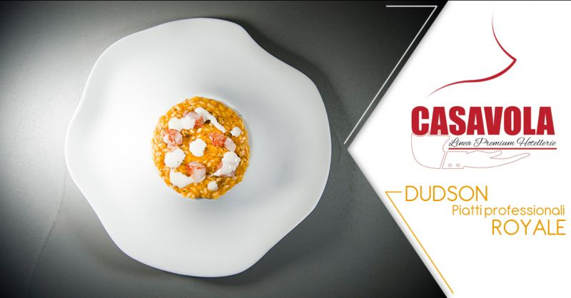 Offerta vendita piatti  Dudson - Promozione distribuzione piatti per ristoranti Dudson Lecce