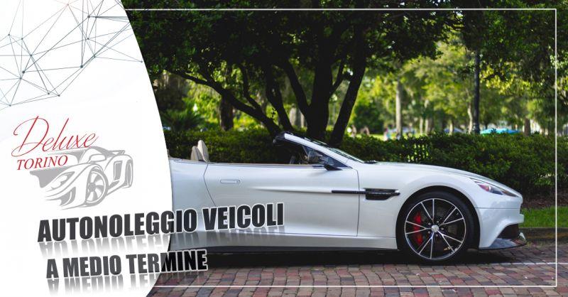 Offerta autonoleggio auto a medio termine tariffe convenienti per tutte le categorie a Torino