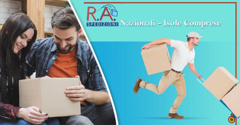 Offerta servizio professionale spedizioni nazionali e isole fino a 70kg a Lecce