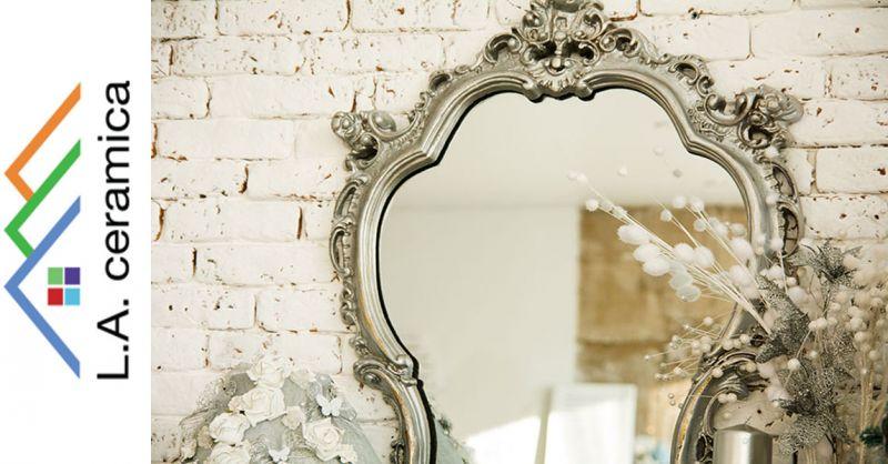 offerta realizzazione specchi su misura Roma - occasione vendita specchi lavorazione specchio