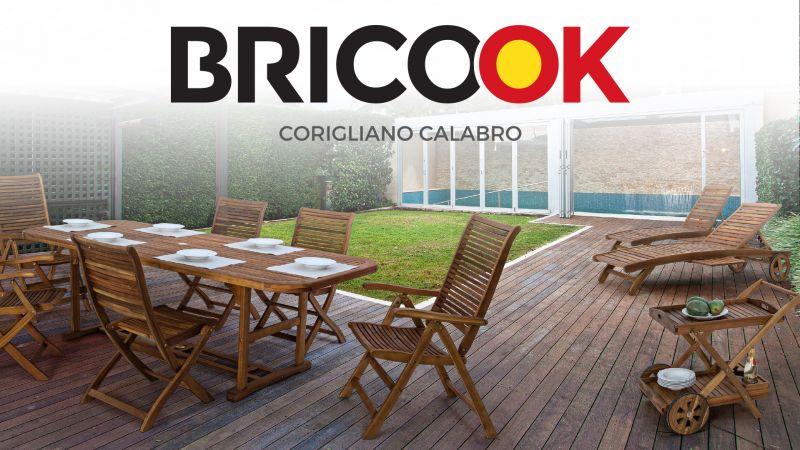 Brico ok - offerte spazi esterni - promozione arredo giardino