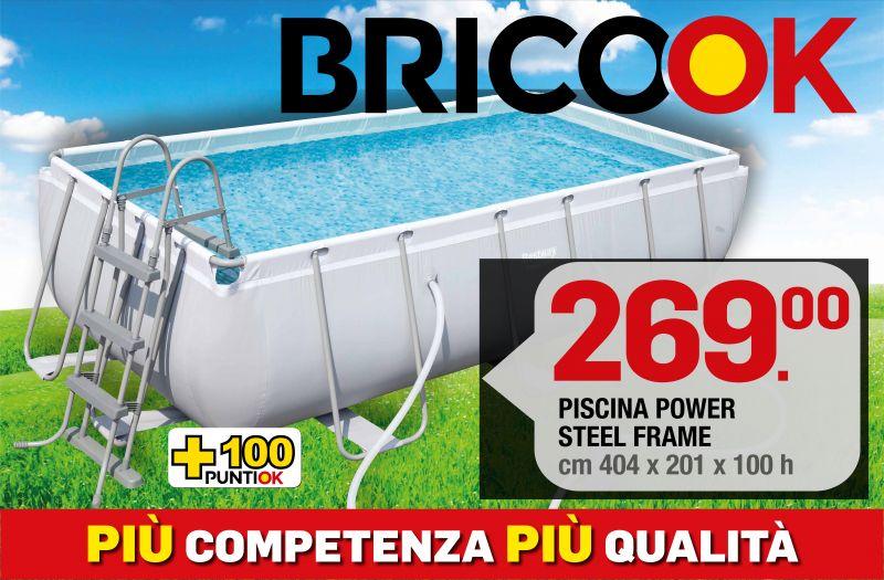 Brico ok  - offerta PISCINA POWER STEEL FRAME - promozione piscine frame