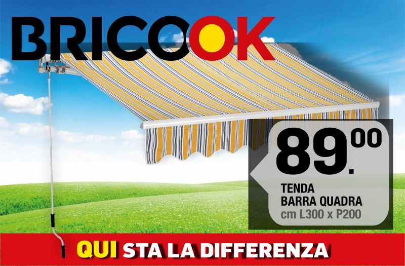 Brico ok - offerta tenda barra quadra - occasione tenda da esterno
