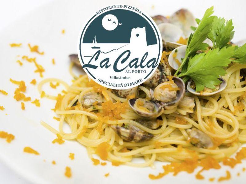 Cala al Porto Villasimius - dove mangiare spaghetti bottarga di muggine e arselle ricetta sarda