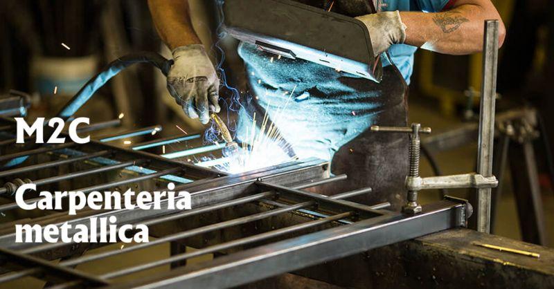 offerta M2C Lavorazioni carpenteria metallica - occasione saldatura inox ferro alluminio