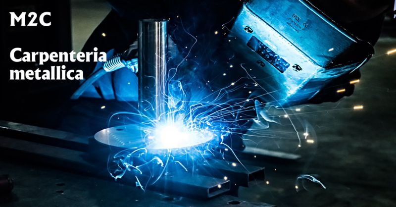 offerta M2C carpenteria metallica vicenza - occasione servizio di saldature certificate vicenza
