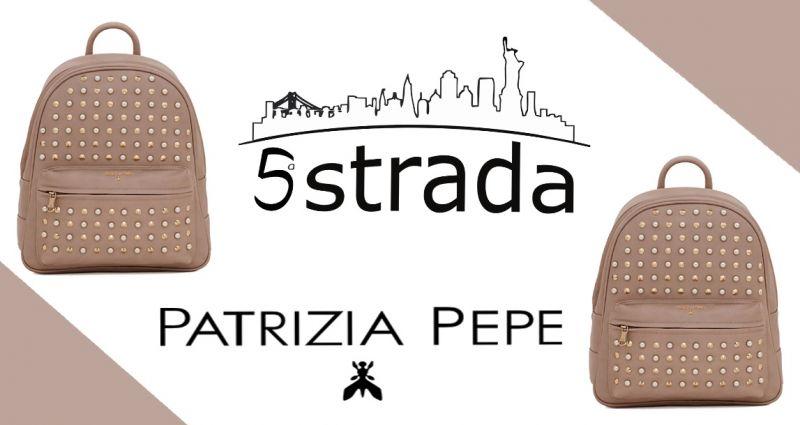 offerta zainetto patrizia pepe borchie rock romantico promozione zaino donna 5a strada shop
