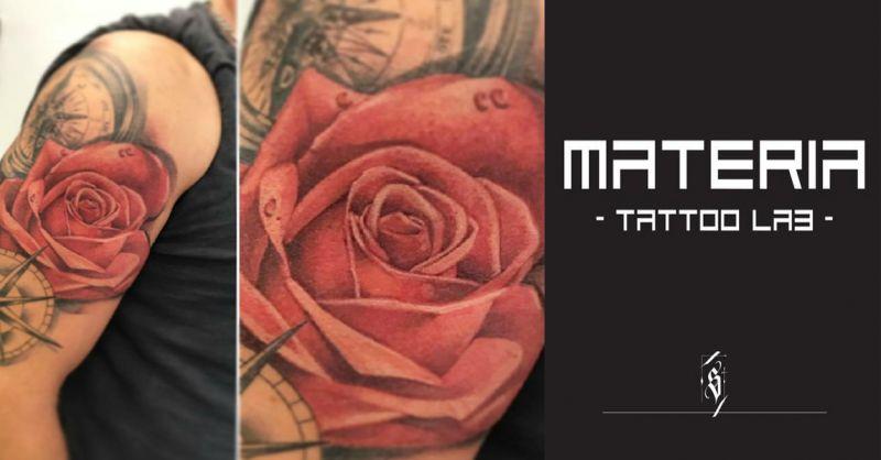 offerta Tatuaggi realistici a colori Vicenza  - occasione tatuaggi Sovizzo tattoo studio