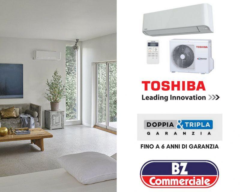 Bz Commerciale - offerta vendita e installazione climatizzatori Toshiba