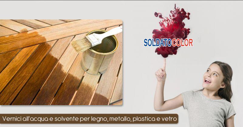 Offerta vendita vernici ad acqua professionali a Merine di Lizzanello - Soldato Color
