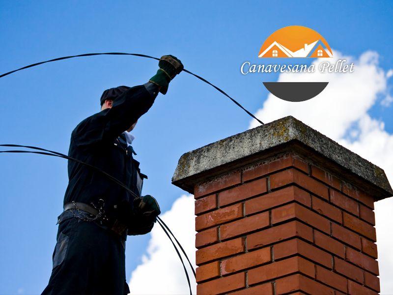 Offerta Servizio pulizia camini professionale - Promozione servizio pulizia canne fumarie
