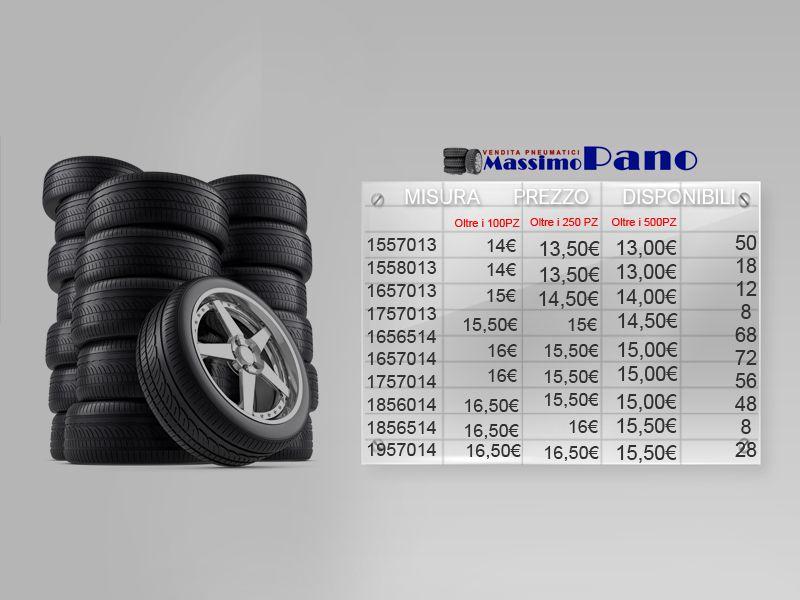 Offerta Azienda pneumatici per gommisti - Promozione distribuzione pneumatici professionali