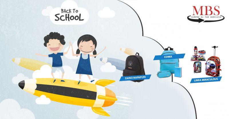 Offerta vendita articoli per la scuola per ragazzi e bambini a Lecce - MBS
