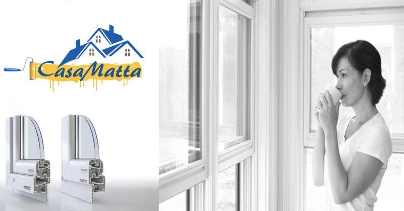 offerta vendita INFISSI SALAMANDER STREAMLINE Roma - occasione finestre SALAMANDER Roma