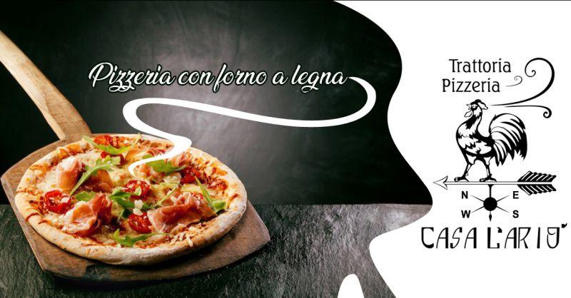 Offerta pizze gustose preparate al forno a legna Baia di Gallipoli vicino Lecce -  Casa l'Ario