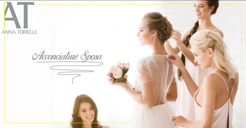 Offerta servizio professionale acconciature e tagli professionali per spose a Torino