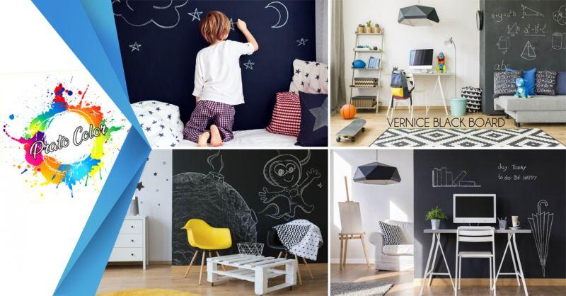 Offerta vendita e distribuzione pittura effetto lavagna Black board Salerno - Prato Color