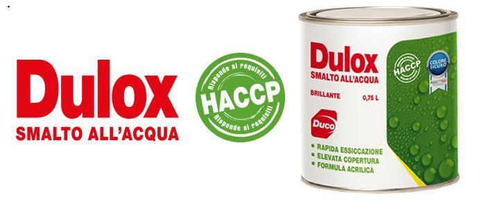 vernici e colori, smalti HACCP