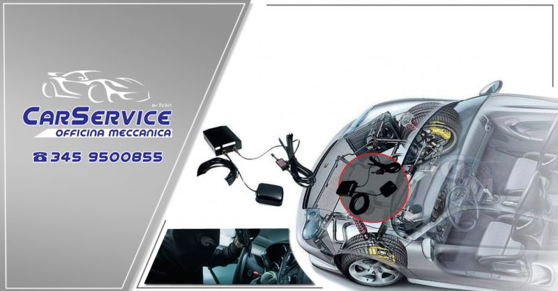 Offerta servizio installazione impianto antifurto per auto elettronico e meccanico a Salerno