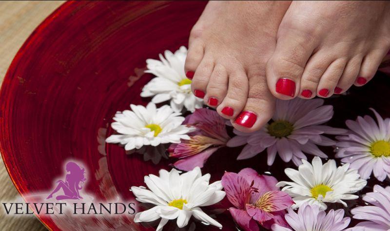 Velvet Hands Bari centro benessere estetico  pedicure curativo estetista offerta promozione