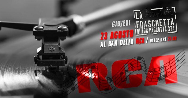 offerta musica live fraschetta Roma - occasione Agosto giovedì musica alla fraschetta Roma