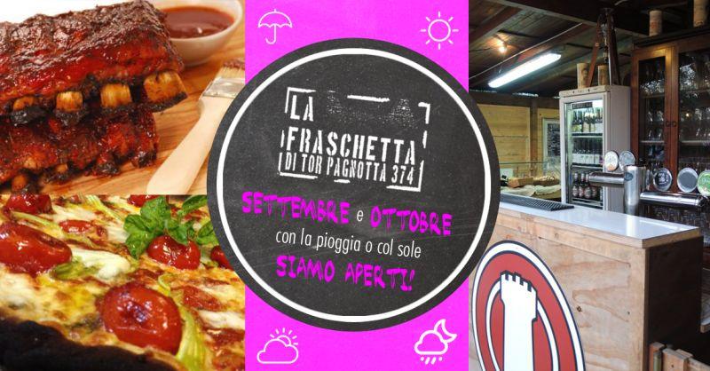 offerta mangiare cibo a KM 0 ristorante Roma - occasione azienda agricola La Fraschetta Roma