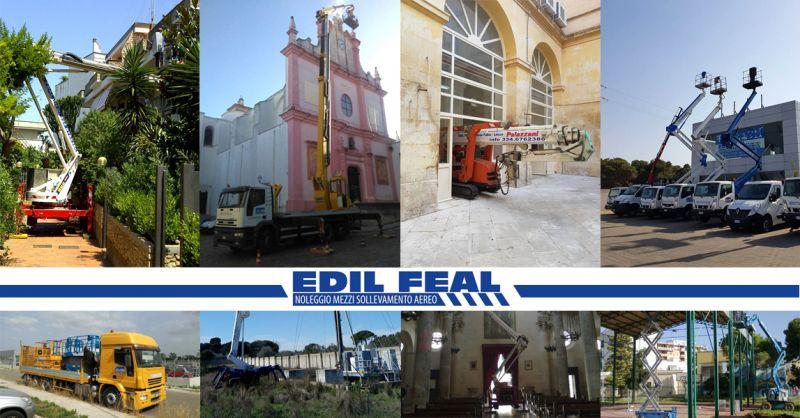 Offerta servizio vendita e noleggio piattaforme aeree vicino Lecce -  Edil Fea