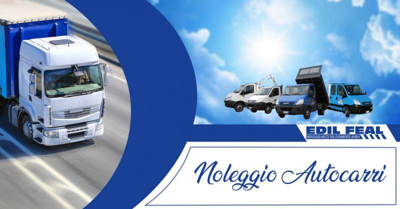Offerta servizio noleggio autocarri a Lecce e provincia - noleggio autocarri  per aziende Lecce