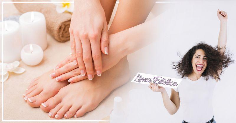 Offerta pedicure piedi trattamento paraffina Treviso  - Linea Estetica