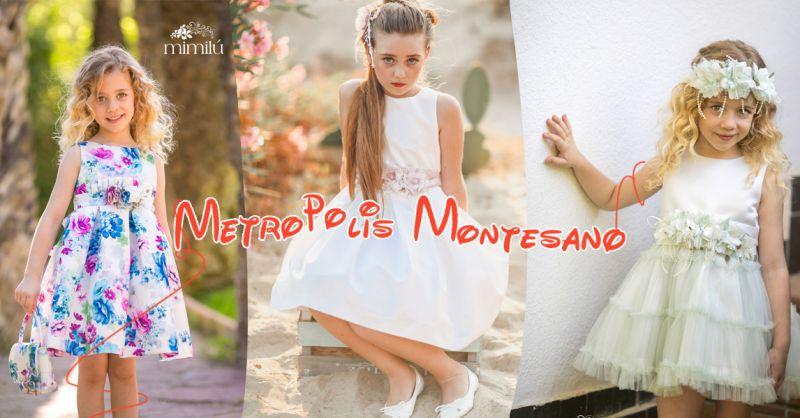 Offerta vendita vestiti cerimoniali damina e pagetto a Salerno - Metropolis