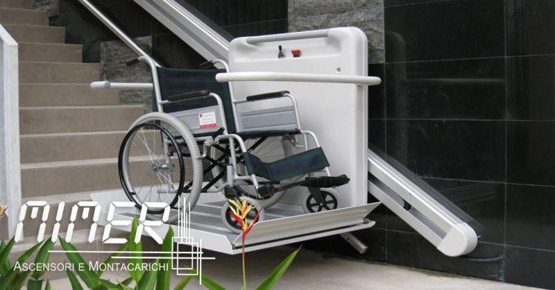 offerta Installazione pedane per disabili - occasione servoscala per disabili chiavi in mano