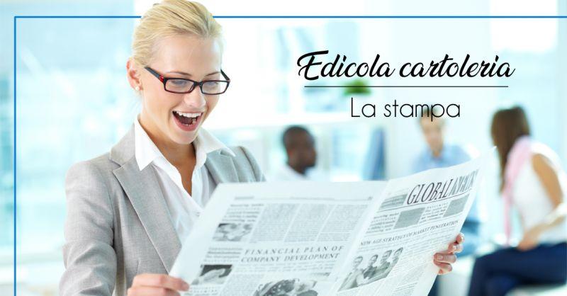 Offerta edicola vendita e distribuzione giornali e riviste a Moncalieri e Torino