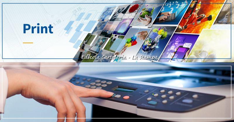 Offerta Servizio fotocopie professionali A4 in edicola a Torino - Edicola Cartoleria La Stampa