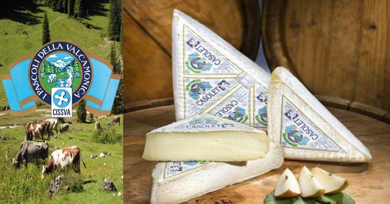 offerta vendita CASOLET formaggio tipico - occasione produzione formaggi tipici italiani