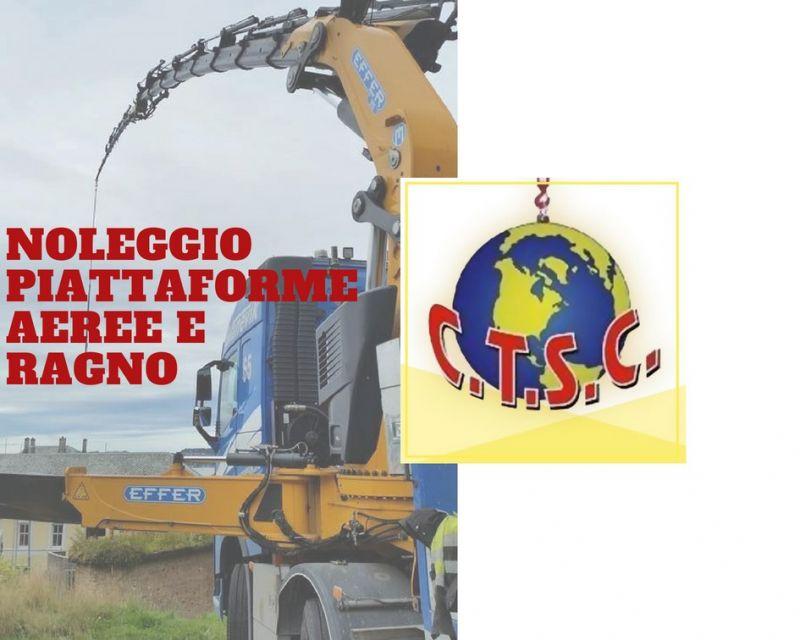 COOPERATIVA SACRO CUORE - NOLEGGIO PIATTAFORME AEREE E RAGNO