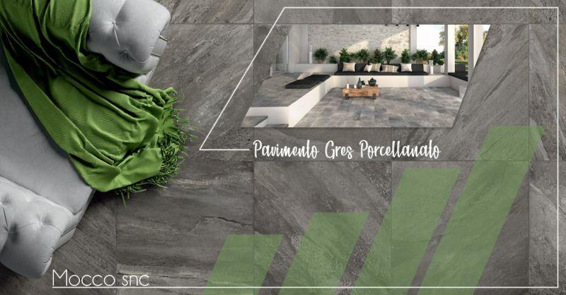 Offerta vendita pavimenti per interni esterni in gress porcellanato a Canavese - Mocco snc