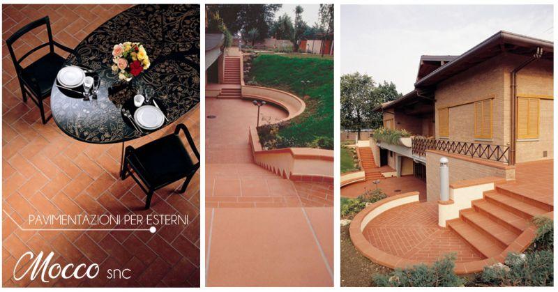 Offerta realizzazione pavimentazione per esterno casa Canavese - Mocco snc