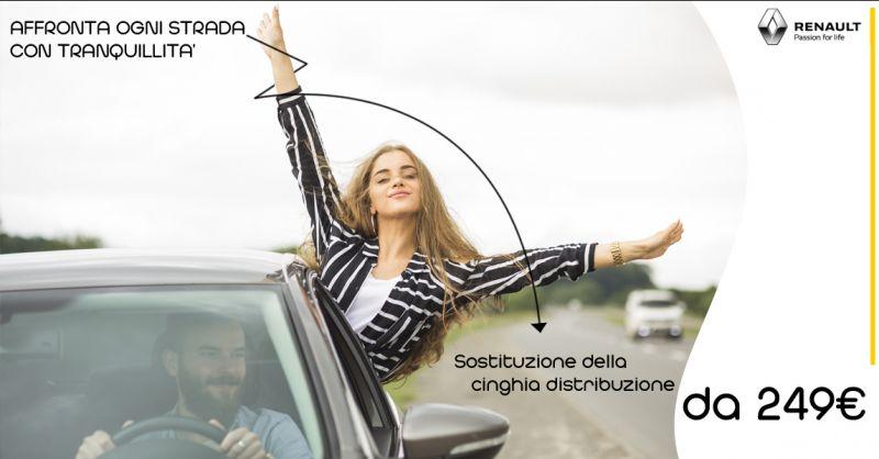 Offerta servizio sostituzione della cinghia di distribuzione Renault a Lecce - GuglielmodeNuzzo