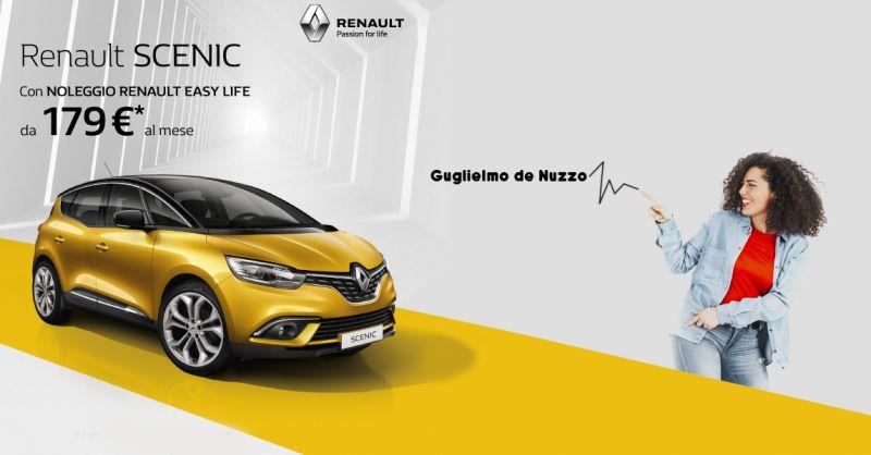 Offerta vendita Renault Scenic formula noleggio Casarano - Gugliemo de Nuzzo