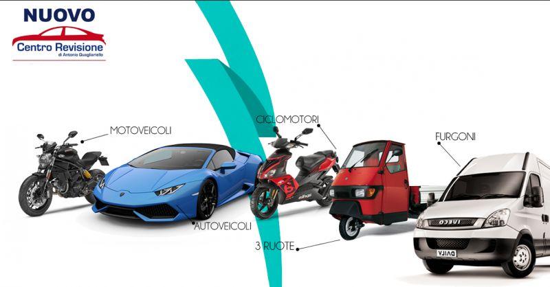 Offerta servizio professionale revisione autoveicoli e motoveicoli a Salerno - L.M.P.