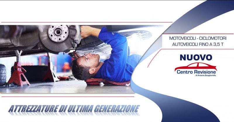 Offerta centro revisioni professionale a San Pietro al Tanagro - Nuovo Centro Revisioni