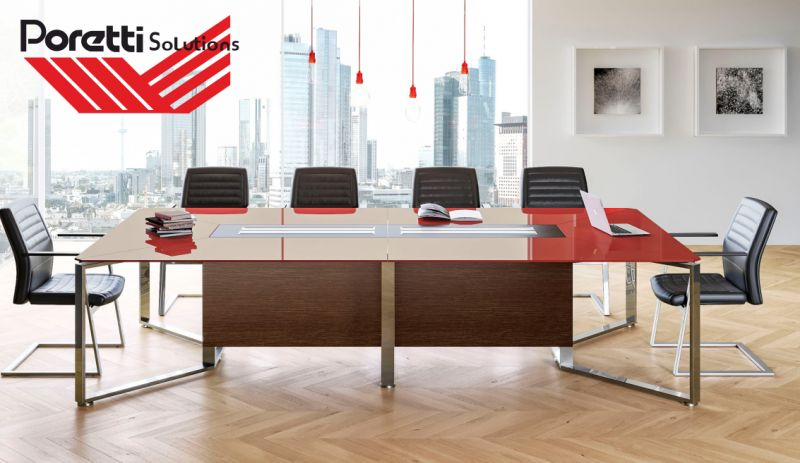 offerta arredamento sala riunioni per ufficio-promozione arredo sala meeting