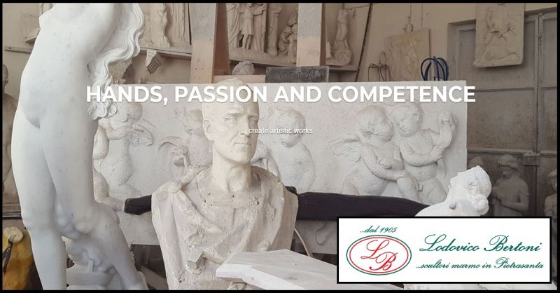 BERTONI LODOVICO & FIGLI - Sale opportunity for handmade marble statues made in italy
