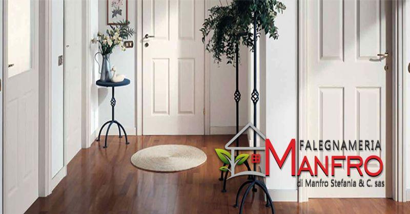 offerta Produzione porte interne in legno - occasione realizzazione portoncini blindati vicenza