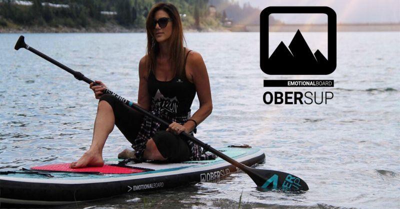 OFFERTA OBERSUP TAVOLE DA SUP GONFIABILI PER TOURING RIVER SURF E YOGA